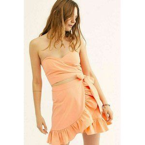 Free People Muy Caliente Tube Smocked Dress XS